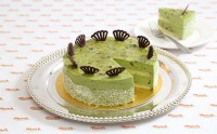 X_CM503 Red Bean and Green Tea Cake