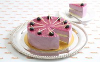 X_CM507 Blueberry Mousse Organic Millet Cake