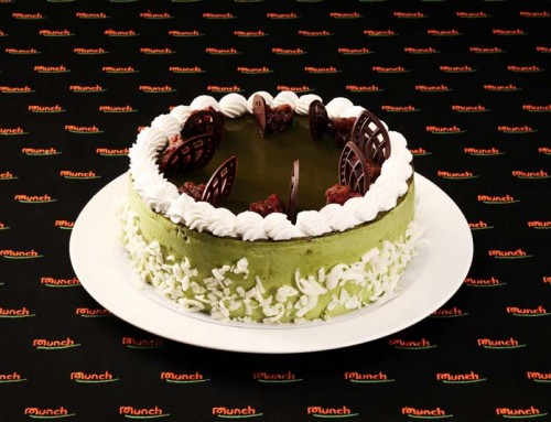 CM503 Green Tea & Red Bean Mousse Cake