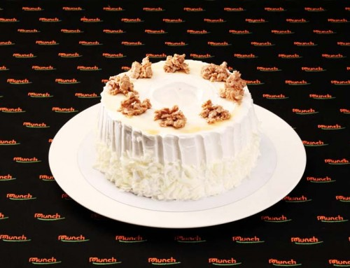 CS804 Chiffon Cream Cake with Crispy Chocolate Flake