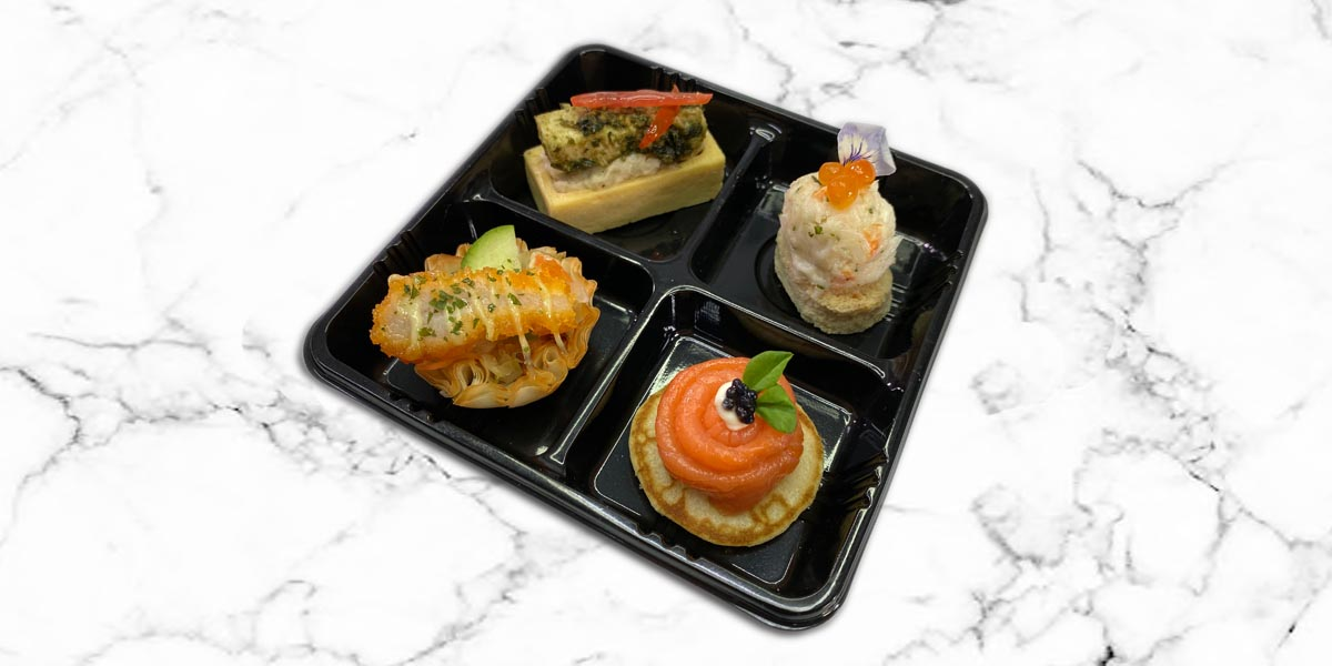 Canapes in 4 Cells Packing-2021